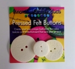 Round Felt Buttons Assorted Sizes (3pc)