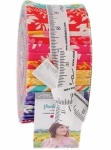Painted Garden Jelly Roll by Crystal Manning  Moda Precuts