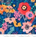 MODA FABRICS - Botanica - Navy Dark Blue