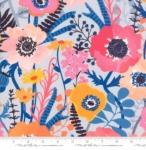 MODA FABRICS - Botanica - Blue Light Blue