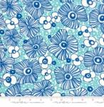 MODA FABRICS - Botanica - Royal Dark Blue