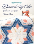 Diamond Log Cabin Quilts and Tree Skirt