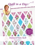 Diamond Party Quilt Pattern by Eleanor Burns