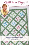 Magic Pinwheel Quilt Pattern by Eleanor Burns