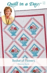 Basket of Flowers Quilt Pattern by Eleanor Burns