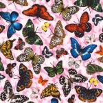 FABRI-QUILT, INC - Frolicking Fields - Butterflies