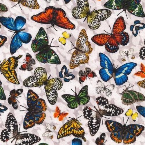 FABRI-QUILT, INC - Frolicking Fields - Butterflies