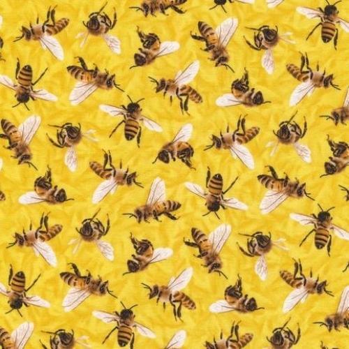PAINTBRUSH STUDIO - Frolicking Fields - Bees - Yellow