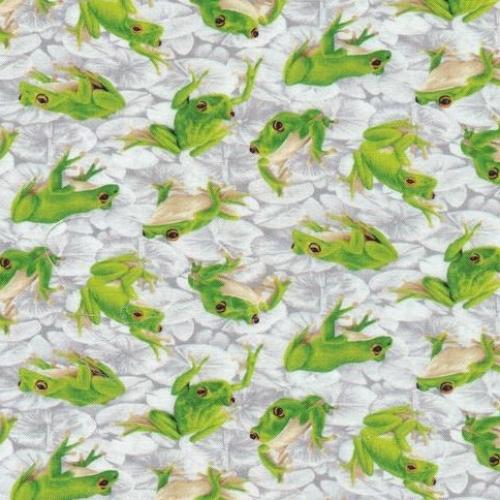 PAINTBRUSH STUDIO - Frolicking Fields - Frogs - Grey