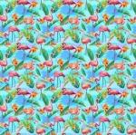 PAINTBRUSH STUDIO - Fabulous Flamingos - Flamingos Aqua