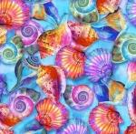 PAINTBRUSH STUDIO - Fabulous Flamingos by Ro Gregg - Flamingo Shell - Turquoise Bright