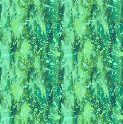 PAINTBRUSH STUDIO - Fabulous Flamingos - Water Bubbles Green