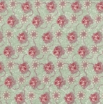 PAINTBRUSH STUDIO - Bella Floral Medallion Dot  FB1053
