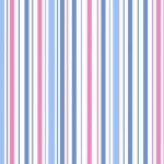 PAINTBRUSH STUDIO - Vintage 30's Stripe Blue/Pink #1126-