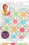Roundabout Stars Quilt: Eleanor Burns Signature Quilt Pattern