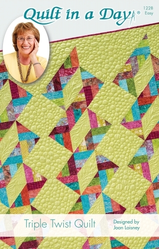 Triple Twist Quilt Eleanor Burns Signature Pattern