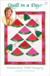 Watermelon Wall Hanging:  Eleanor Burns Signature Pattern