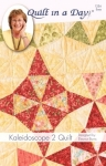 Kaleidoscope 2 Quilt: Eleanor Burns Signature Quilt Pattern