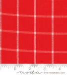 MODA FABRICS - Bonnie Camille Wovens - Windowpane - Red