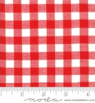 MODA FABRICS - Bonnie Camille Wovens - Check - Red