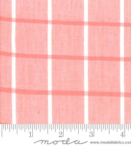 MODA FABRICS - Bonnie Camille Wovens - Windowpane - Pink