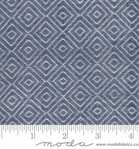 MODA FABRICS - Bonnie Camille Wovens - Diamond - Navy