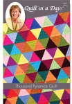 Thousand Pyramids Quilt: Bright Solids