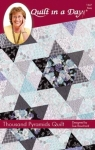Thousand Pyramids Quilt: Black Stars