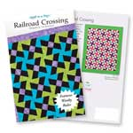 Railroad Crossing: Eleanor Burns Signature Quilt Pattern