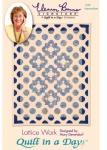 Clearance - Lattice Work: Eleanor Burns Signature Quilt 735272012528