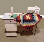 Portable Sewing Table by Sullivans USA