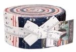 Stars & Stripe Gatherings Jelly Roll Moda Precuts