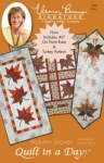 Autumn Leaves: Eleanor Signature Quilt Pattern 735272012603