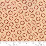 MODA FABRICS - Stars & Stripes Gathering - Beige Silhouette Stars