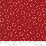 MODA FABRICS - Stars & Stripes Gathering - Red Silhouette Stars