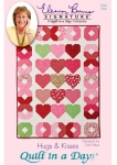 Hugs & Kisses: Eleanor Burns Signature Quilt Pattern