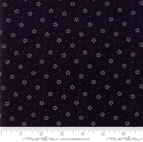 MODA FABRICS - Stars & Stripes Gathering - Black Small Stars