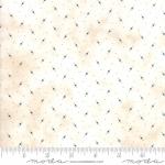 Skinny - SK1062- 7/8 yds - MODA FABRICS - Stars & Stripes Gathering - Cream Tiny Stars