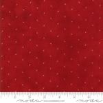 Skinny - SK1089- 1 yd - MODA FABRICS - Stars & Stripes Gathering - Red Tiny Stars