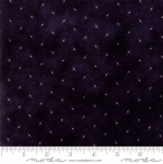 MODA FABRICS - Stars & Stripes Gathering - Black Tiny Stars