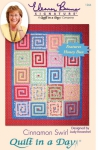 Cinnamon Swirl: Eleanor Burns Signature Quilt Pattern  735272012665