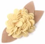 Burst Blossom Embellishment- Buttercup