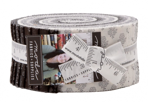Urban Farmhouse Gatherings Jelly Roll by Primitive Gatherings Moda Precuts