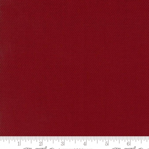 Skinny - SK948- 1 3/8 yds - MODA FABRICS - Cottonworks - Solid Dark Red