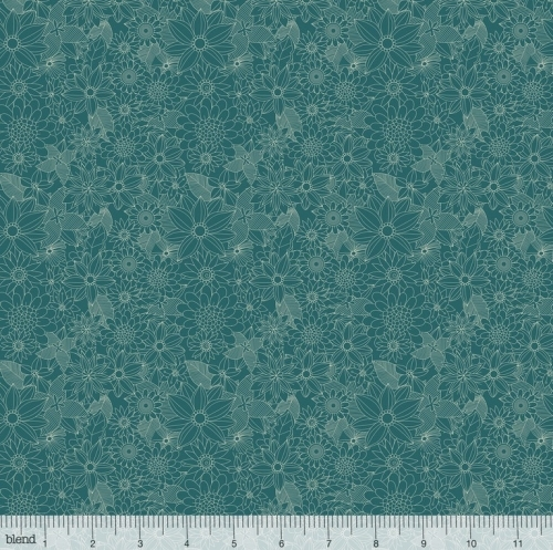 BLEND - Floral Pets - Sigrid Turquoise
