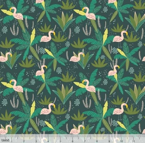 BLEND - Junglemania - Flamingo Green - #2799-