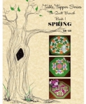 Clearance - Table Topper Series: The Quilt Branch Book 1 Spring by The Quilt Branch
