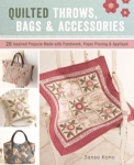 Quilted Throws/Bags and Accessories by Sanae Kono