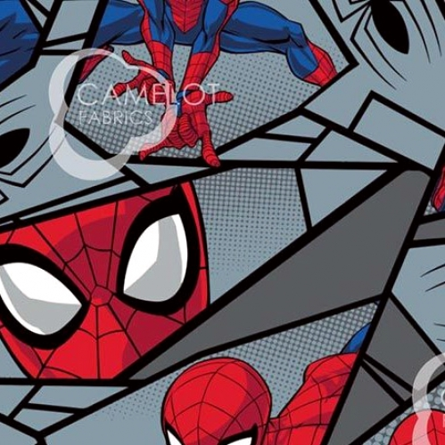 CAMELOT - Spiderman - Spider-Man Block - Gray
