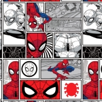 CAMELOT - Spiderman - Spider-Man Brickwork - White